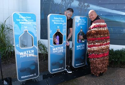 Watercare water refill stations